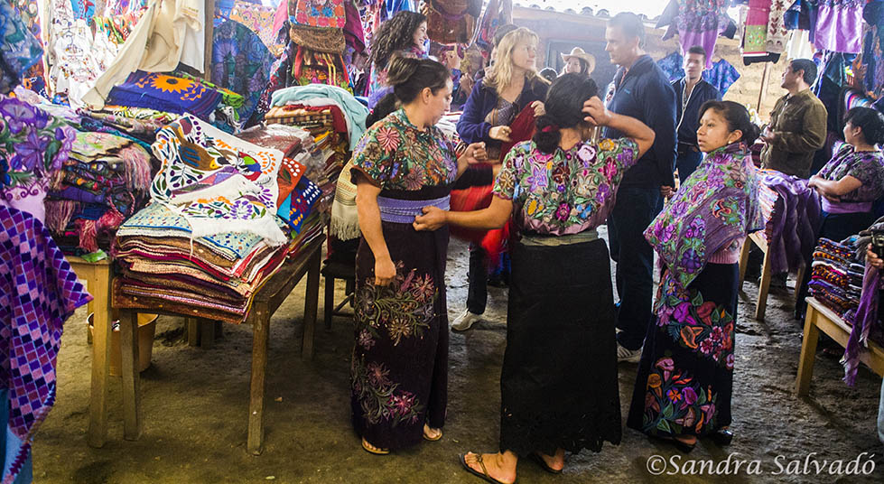 Zinacantan weavers