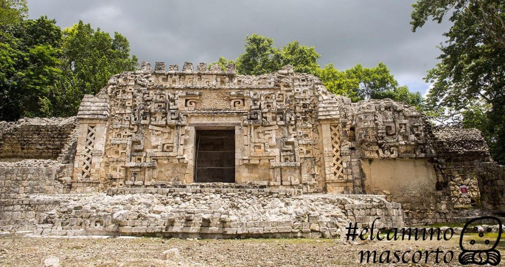 Hochob Campeche archaeological zone