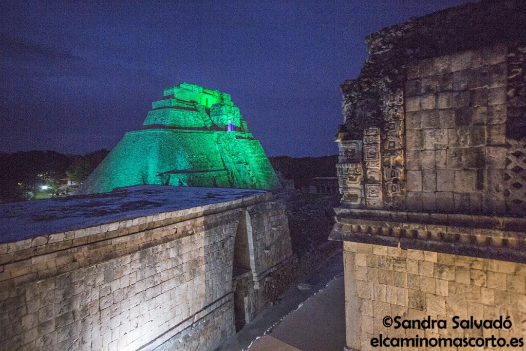 Uxmal sound and light show